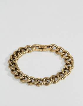 ICON BRAND Heavy Link Chain Bracelet In Burnished Gold