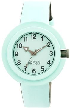 Crayo Equinox Collection CRACR2804 Unisex Watch with Rubber Strap