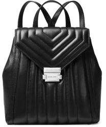 MICHAEL Michael Kors Medium Whitney Leather Quilted Backpack