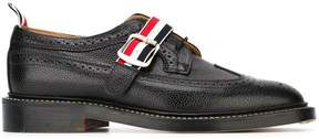 Thom Browne buckle detail brogue shoes