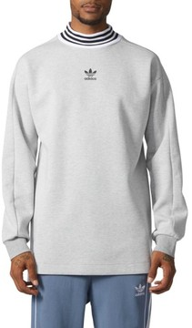 adidas Men's Mock Neck Sweatshirt