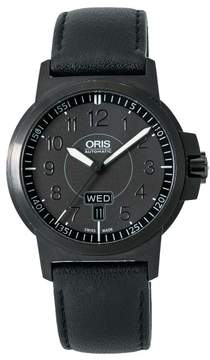 Oris BC3 Advanced 735-7641-4764 RS PVD Coated Stainless Steel & Leather Automatic 42mm Mens Watch