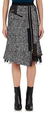 Kolor Women's Cotton-Blend Tweed Pencil Skirt