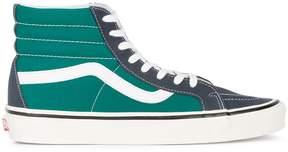 Vans Blue Green Two Tone UA SK8 Hi 38 DX sneakers