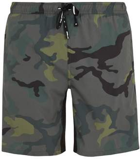 The Upside Ultra camouflage-print performance shorts