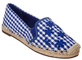 Isaac Mizrahi Live! Gingham Espadrilles withEmbroidery