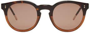 Dolce & Gabbana Tortoiseshell Round Sunglasses