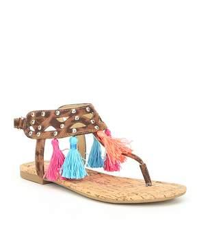 Jessica Simpson Girls' Treasure Thong Sandals