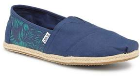 Toms Hibiscus Print Slip-On Shoe