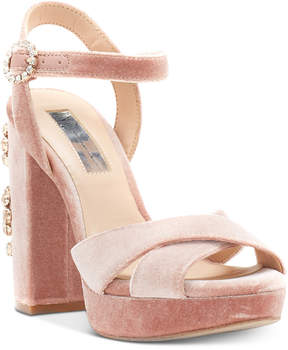 INC International Concepts I.n.c. Rosarria Block-Heel Sandals, Created for Macy's Women's Shoes