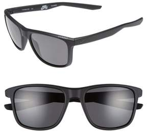 Nike Men's Unrest 57Mm Polarized Sunglasses - Matte Black/ Deep Pewter