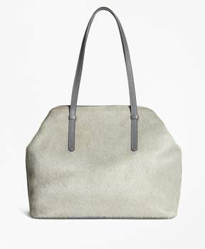 Brooks Brothers Haircalf Tote