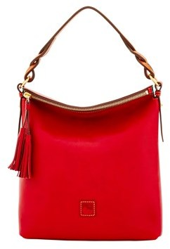 Dooney & Bourke Florentine Small Sloan Bag. - RED - STYLE