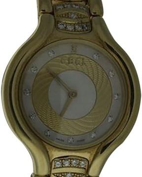 Ebel Beluga 18K Yellow Gold and Diamonds Womens Watch