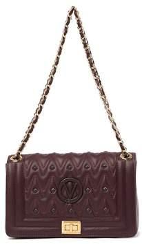 Mario Valentino Valentino By Alice Studs Leather Shoulder Bag
