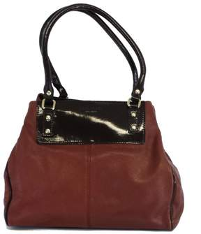 Kate Spade Maroon Leather Shoulder Bag - RED - STYLE