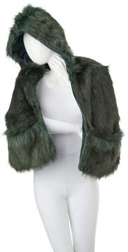 Adrienne Landau A by Hooded Scarf with Pockets