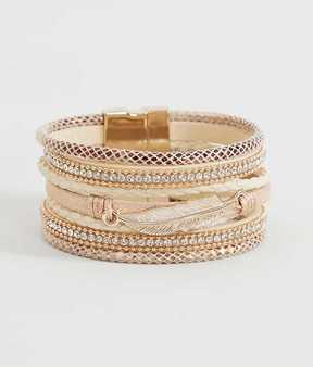 BKE Feather Bracelet