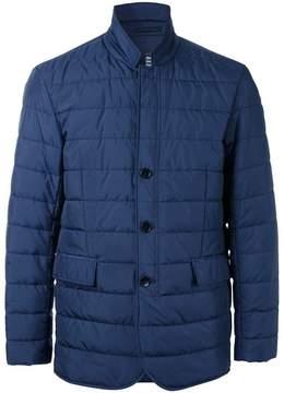 Kent & Curwen padded button front jacket