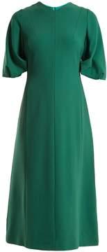 Joseph Dante V-neck balloon-sleeve dress