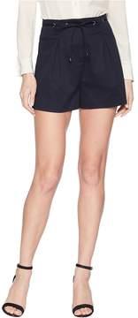 J.o.a. Eyelet Detail Pleated Shorts Women's Shorts