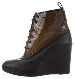 Balenciaga Platform Wedge Ankle Boots
