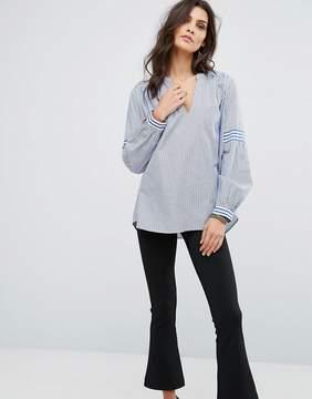 BA&SH Mix Stripe Shirt