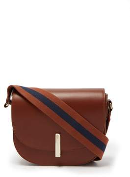 A.P.C. Ava Leather Saddle Bag - Womens - Brown