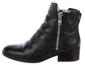 3.1 Phillip Lim Shearling-Trimmed Leather Booties