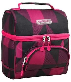 J World J-World Corey Lunch Bag with Front Pocket - Block Pink