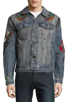 Cult of Individuality Graphic Denim Jacket
