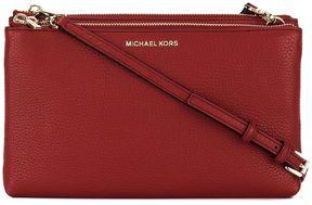 MICHAEL Michael Kors Crossbodies Double Zip Crossbody Black - RED - STYLE