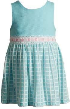 Youngland Toddler Girl Jacquard Knit Fashion Dress