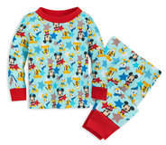 Disney Mickey Mouse and Friends PJ PALS Set for Baby