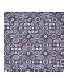 Reiss Tivoli Pattered Silk Pocket Square