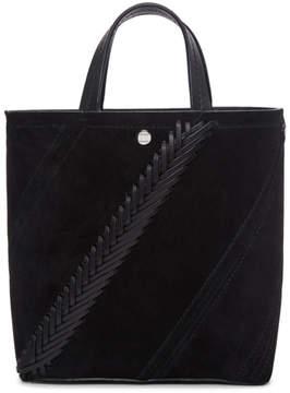 Proenza Schouler Black Crochet Small Hex Tote