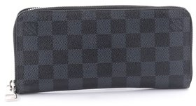 Louis Vuitton Pre-owned: Zippy Wallet Damier Cobalt Vertical. - BLUE - STYLE