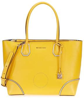 Michael Kors Mercer Gallery Medium Leather Tote- Sunflower - ONE COLOR - STYLE