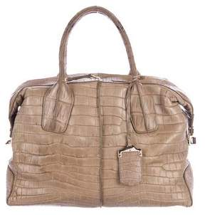 Tod's Alligator D Media Satchel