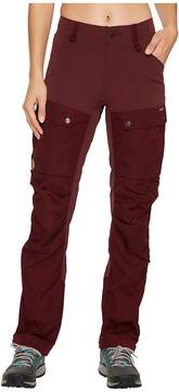 Fjallraven Keb Trousers Women's Casual Pants