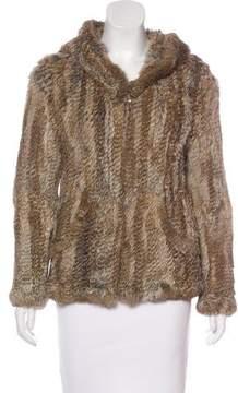 Issa Fur Knit Jacket
