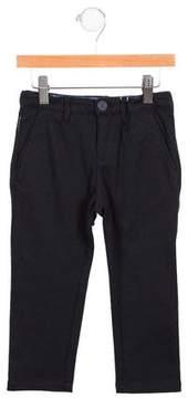 Armani Junior Boys' Knit Straight-Leg Pants w/ Tags