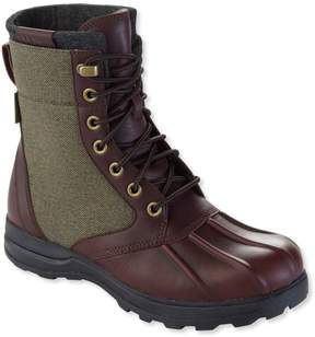 L.L. Bean L.L.Bean Men's Bar Harbor Waterproof Insulated Boots, Leather/Canvas