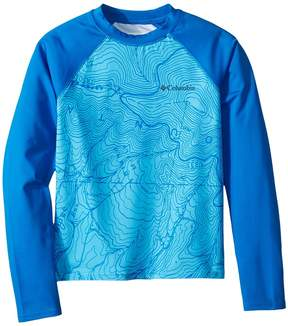 Columbia Kids Mini Breaker Printed Long Sleeve Sunguard Boy's Swimwear