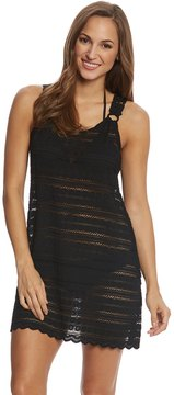 J Valdi J.Valdi Circle Stripe Crochet Ring Tank Dress 8153992