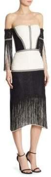 Alexis Antoinette Off-The-Shoulder Dress