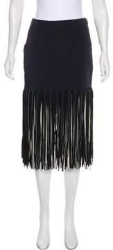 Esteban Cortazar 2015 Fringe Skirt