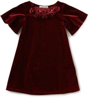 Copper Key Little Girls 2T-6X Velvet Dress