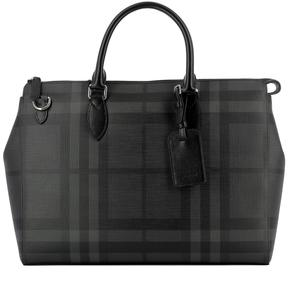 Burberry Black Pvc Handle Bag