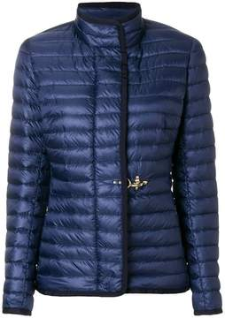 Fay clasp fastening puffer jacket